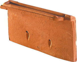 Rive individuelle droite à emboîtement MONOPOLE 1 coloris amarante rustique - Gedimat.fr