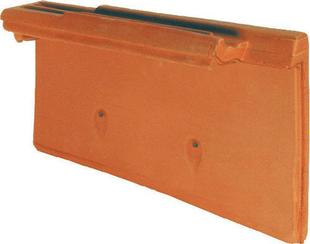 Rive individuelle droite à emboîtement MONOPOLE 3 coloris amarante rustique - Gedimat.fr
