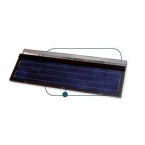 Ardoise photovoltaïque 60WC + câble terre - Gedimat.fr