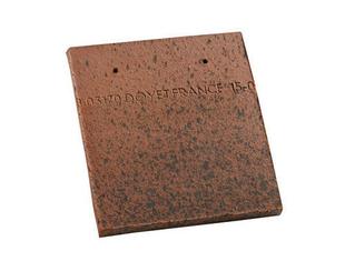 Tuile courte d'égout et de faîtage ou Doublis MONUMENT HISTORIQUE Doyet 16 coloris terre d'Allier - Gedimat.fr