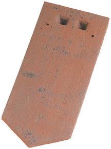 Tuile plate FER DE LANCE 16x38 JACOB coloris rouge ancien - Gedimat.fr