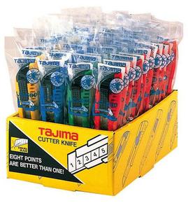 Cutter TAJIMA LC500C - présentoir de 40 pièces - Gedimat.fr