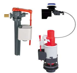 Mécanisme électronique + robinet flotteur WC tronic 2 - Gedimat.fr