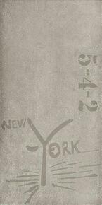 Décor Graffiti A+B+C carrelage pour mur en faïence NYC larg.20cm long.45cm coloris midtown - Gedimat.fr