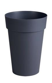 Pot TOSCANE rond diam.46cm haut.65cm 67L gris - Gedimat.fr