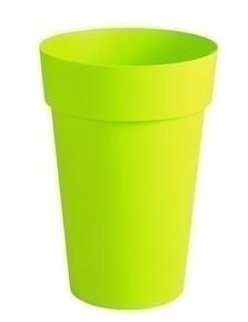 Pot TOSCANE rond diam.46cm haut.65cm 67L vert - Gedimat.fr