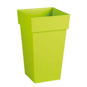 Pot TOSCANE carré dim.39x39cm vert - Gedimat.fr