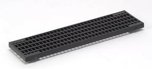 Grille caillebotis acier DRAINYL CP 100 ép.2cm larg.13,4cm long.50cm pour caniveau DRAINYL CP 100/H110 - Gedimat.fr