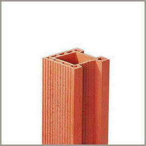 Angle monolithe en terre cuite dim.20x20cm long.2,60m - Gedimat.fr