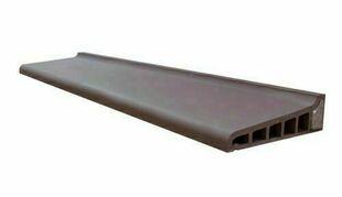 appui monolithe isol en terre cuite gris anthracite p. Black Bedroom Furniture Sets. Home Design Ideas