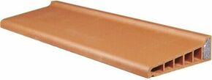 Appui monolithe isol en terre cuite rouge larg for Appui de fenetre en terre cuite