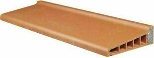 Appui monolithe isol en terre cuite rouge larg for Appui fenetre terreal