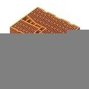 Brique en terre cuite CALIBRIC d'ébrasement monomur ép.37,5cm larg.16,4cm long.50cm - Gedimat.fr