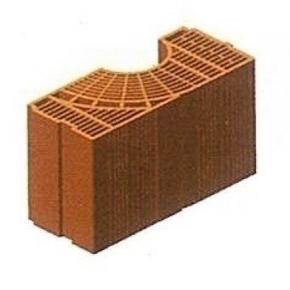 Brique en terre cuite CALIBRIC multiangle monomur ép.30cm larg.21,2cm long.50cm - Gedimat.fr