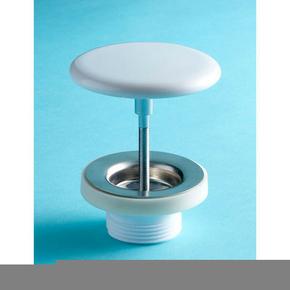 Kit cache-bonde pour vasque blanc - Gedimat.fr