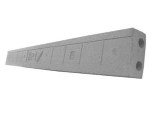 Goulotte en polystyrène expansé ISOLEADER long.1,20m haut.12,5cm ép.6,2cm - Gedimat.fr