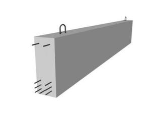 Poutre en béton précontrainte LBI larg.20cm haut.50cm long.5,30m - Gedimat.fr