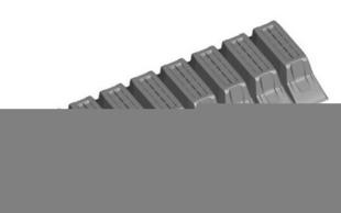 Entrevous en matériaux de synthèse LEADER EMS M2 entraxe de 60cm long.120cm haut.20cm - Gedimat.fr
