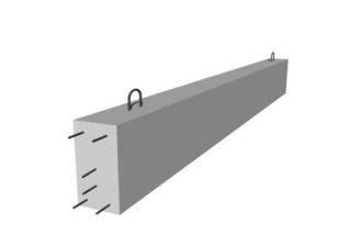 Poutre en béton précontrainte LBI larg.15cm haut.35cm long.5,30m - Gedimat.fr