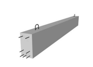 Poutre en béton précontrainte LBI larg.20cm haut.35cm long.4,30m - Gedimat.fr