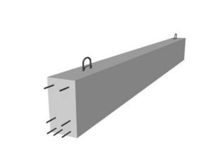 Poutre en béton précontrainte LBI larg.20cm haut.35cm long.4,60m - Gedimat.fr