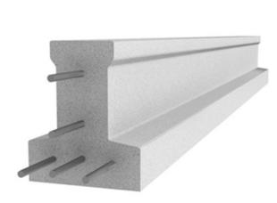 Poutrelle en béton X115 haut.11,4cm larg.9,5cm long.5,60m - Gedimat.fr