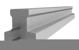 Poutrelle en béton X92 haut.9,2cm larg.8,5cm long.2,70m - Gedimat.fr