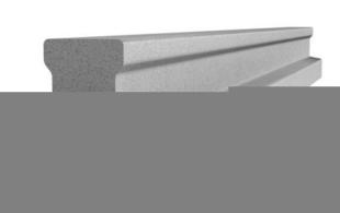 Poutrelle en béton X92 haut.9,2cm larg.8,5cm long.2,80m - Gedimat.fr