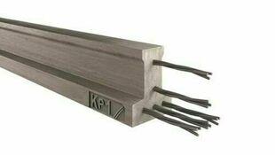 Poutrelle en béton X92 haut.9,2cm larg.8,5cm long.3,90m - Gedimat.fr