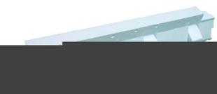Rupteur en polystyrène moulé ISORUTPEUR DB RL24 entraxe de 60cm long.1,20m haut.24cm - Gedimat.fr