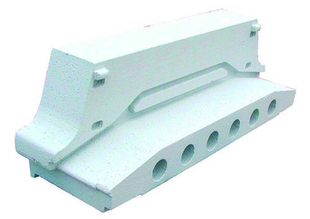 Rupteur en polystyrène moulé ISORUTPEUR DB RT17 entraxe de 60cm long.60cm haut.17cm - Gedimat.fr
