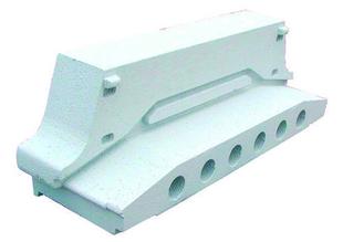 Rupteur en polystyrène moulé ISORUTPEUR DB RT20 entraxe de 60cm long.60cm haut.20cm - Gedimat.fr