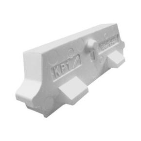 Rupteur en polystyrène moulé ISORUTPEUR HB60 RT20 entraxe de 60cm long.60m haut.20cm - Gedimat.fr