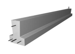Poutrelle en béton PERFORMANCE 115SY haut.12cm larg.9,5cm long.4,40m - Gedimat.fr