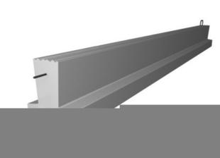 Poutrelle en béton PERFORMANCE 115SY haut.12cm larg.9,5cm long.4,50m - Gedimat.fr