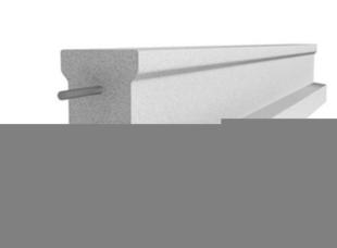 Poutrelle en béton X115 haut.11,4cm larg.9,5cm long.5,00m - Gedimat.fr