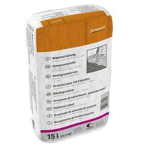Granules pour nid d'abeilles 1/4mm FERMACELL sac de 15L - Gedimat.fr
