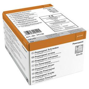 Vis FERMACELL POWERPANEL sol TE 3,5x23mm boite de 500 - Gedimat.fr