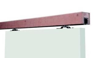Rail en applique longueur 2 m sur support bois pour porte coulissante gamme - Glissiere pour porte coulissante ...