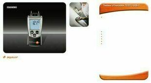 Testeur d'humidité TESTO 606-1 - Gedimat.fr
