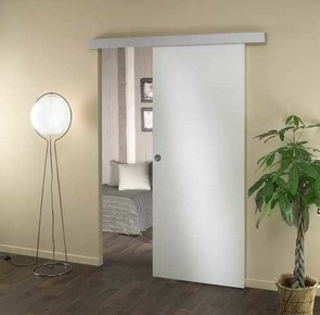 systeme porte coulissante invisible finest blocporte u blanc with systeme porte coulissante. Black Bedroom Furniture Sets. Home Design Ideas