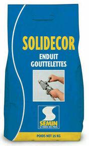 Enduit décoratif SOLIDECOR LAVABLE - sac de 25kg - Gedimat.fr