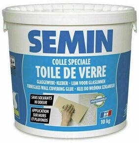 Colle toile de verre - pot de 10kg - Gedimat.fr