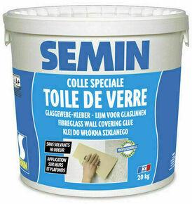 Colle toile de verre - seau de 20kg - Gedimat.fr