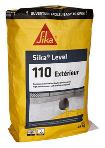 Ragr age sol sika level 110 ext rieur sac de 25kg for Ragreage exterieur prix