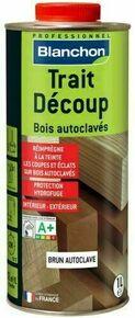 Traitement bois extérieur TRAIT DECOUPE bidon 1L coloris brun - Gedimat.fr