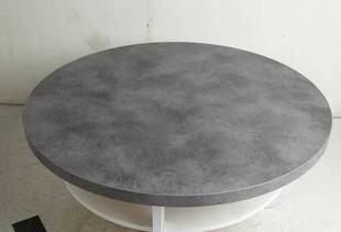 plateau stratifi rond d cor b ton cir. Black Bedroom Furniture Sets. Home Design Ideas