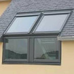 Fen tre verticale vfe pour verri res d 39 angle sk35 3057 for Fenetre d angle