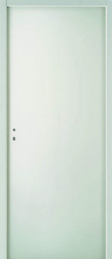 Bloc-porte coupe-feu EI30 (1/2h) avec serrure huisserie 66 x 55 mm Larg.0,63 x Haut.2,04 m gauche poussant - Gedimat.fr