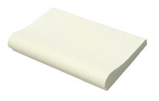 Margelle piscine droite AQUITAINE long.50cm larg.33cm coloris blanc cassé - Gedimat.fr